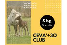 CEVA+3o Club  3kg granulés